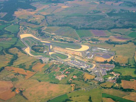 Vallelunga Circuit near Rome in Italy